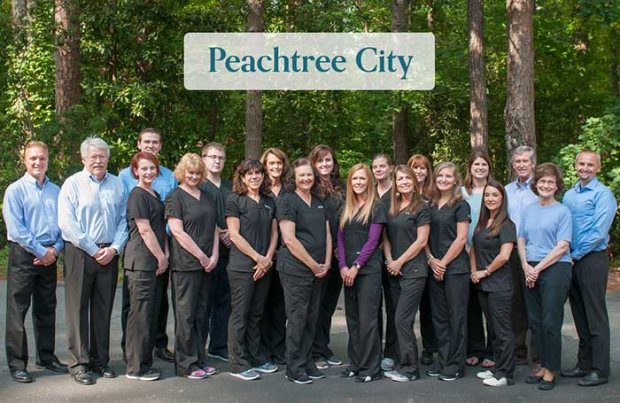 Aberdeen Dental Peachtree Team Picture